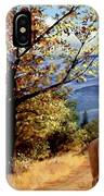 Rocky Mountain Trail IPhone Case