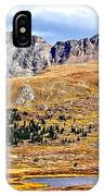 Rocky Mountain Tundra And Lake IPhone Case