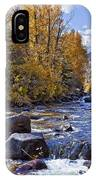 Rocky Mountain Water 8 X 10 IPhone Case