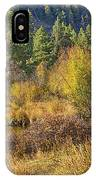 Rocky Mountains Autumn IPhone Case