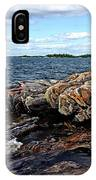 Rocky Point - Wreck Island IPhone Case