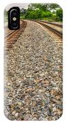 Rocky Railroad Rails IPhone Case