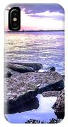 Rocky River Shore IPhone Case