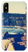 Rocky Shores Of Lake Superior IPhone Case