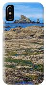 Rocky Washington Coast Of The Pacific IPhone Case