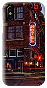 Roger's Hotel IPhone Case