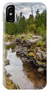 Rogue River Near Union Creek IPhone Case