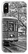 Rollin' Thru New Orleans 2 Bw IPhone Case