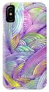 Rolling Patterns In Pastel IPhone Case
