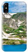 Rollins Pass Study 5 IPhone Case
