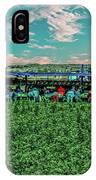 Romaine Lettuce Harvest IPhone Case