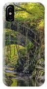 Roman Bridge , Penmachno  IPhone Case