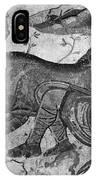Roman Mosaic: Man & Horse IPhone Case
