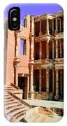 Roman Ruins At Sabrayha IPhone Case