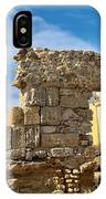 Roman Wall In Cadiz Spain IPhone Case