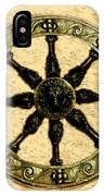 Roman Wheel IPhone Case