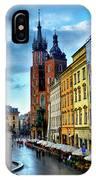 Romance In Krakow IPhone Case