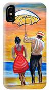 Romance On The Beach IPhone Case