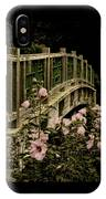 Romantic Garden And Bridge IPhone Case