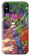 Romantic Garden Walk IPhone Case