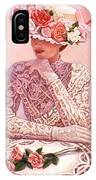 Romantic Lady IPhone Case