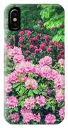 Romantic Rhododendrons IPhone Case