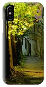 Romantic Sidewalk IPhone Case
