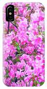 Romantic Skies Apple Blossoms  IPhone Case