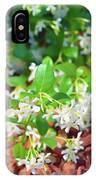 Romantic Skies Jasmine In Bloom IPhone Case