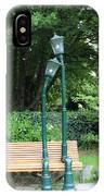 Romantic Street Lamp IPhone Case