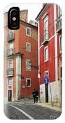 Romantic Walking At Old Lisbon IPhone Case