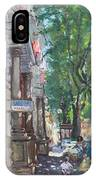 Rome A Small Talk By Barbiere Mario IPhone Case