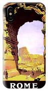 Rome, Italy, Rome Express Railway IPhone Case