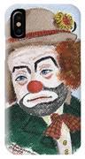 Ronnie The Clown IPhone Case