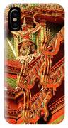 Roof Of Buddhist Temple In Thailand IPhone Case