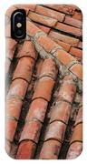 Roof Tiles And Mortar  IPhone Case