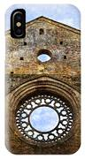 Roofless Church Abbazia Di San Galgano IPhone Case