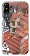 Roofs Of Bad Sooden-allendorf IPhone Case
