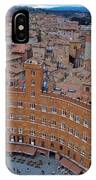 Rooftops And Cafes Of Il Campo IPhone Case