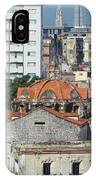 Rooftops Of Old Town Havana IPhone Case