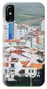 Rooftops Of Ponta Delgada IPhone Case