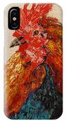 Rooster 1 IPhone Case