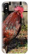 Rooster And Friend IPhone Case