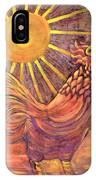 Rooster Batik IPhone Case