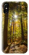 Rooster Comb Trail IPhone Case