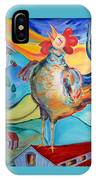 Rooster Crows -- Joy Arising IPhone Case