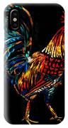 rooster  Gallo Giro IPhone Case