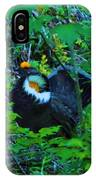 Rooster Grouse Posing IPhone Case