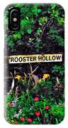 Rooster Hollow IPhone Case