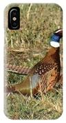 Rooster Pheasants IPhone Case